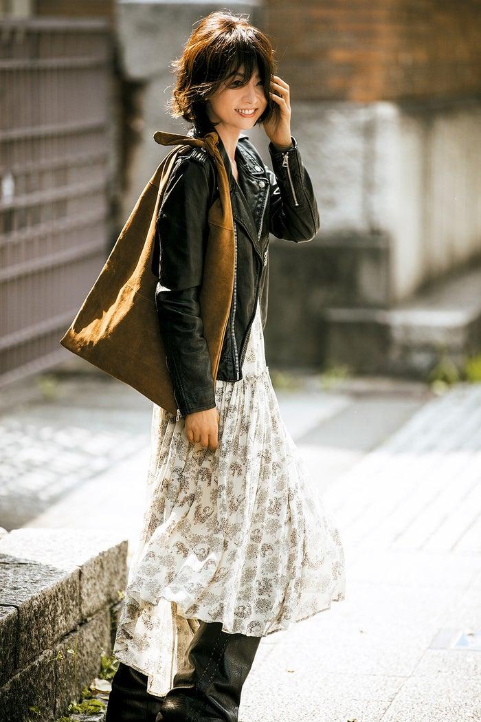 五明祐子の私服画像