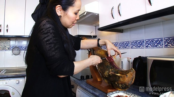 スペインの日本人妻・真理子さん/画像提供:毎日放送