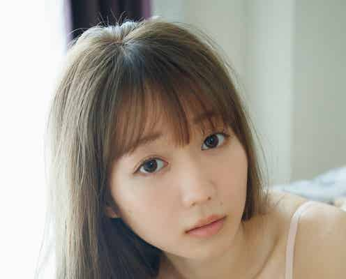 =LOVE大谷映美里、美バストチラリ 23歳バースデーに「週プレ」初表紙