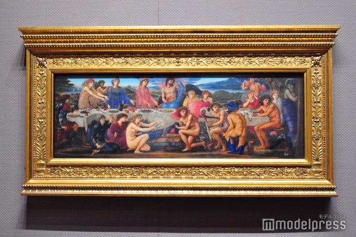 エドワード・バーン=ジョーンズ《ペレウスの饗宴》1872-81年、油彩、板 バーミンガム美術館(C)モデルプレス