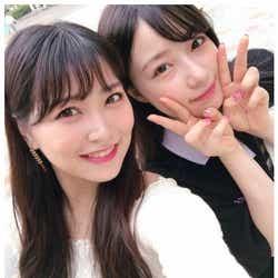 モデルプレス - NMB48白間美瑠&村瀬紗英「PRODUCE48」コンビの2ショットにエール殺到