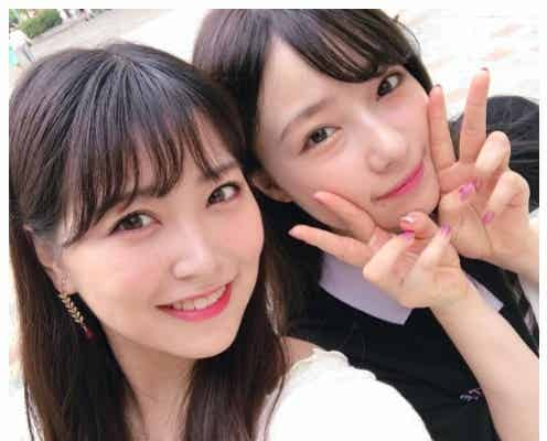 NMB48白間美瑠&村瀬紗英「PRODUCE48」コンビの2ショットにエール殺到
