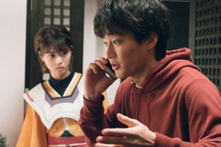 西野七瀬、野村周平/「電影少女」第1話より(C)「電影少女2018」製作委員会