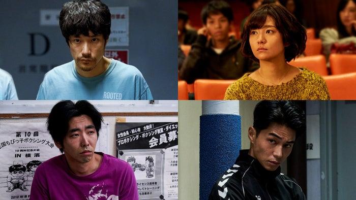 (左上から時計回りに)松山ケンイチ、木村文乃、東出昌大、柄本時生(C)2021「BLUE/ブルー」製作委員会