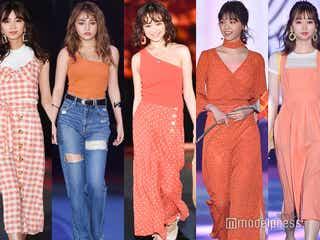 【2019年春夏トレンドカラー】オレンジの着こなし5つ<GirlsAward 2019 SPRING/SUMMER>