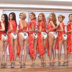 CYBERJAPAN DANCERS(左から)JUNON、KOZUE、HARUKA、KANA、KAREN、KAZUE、KANAE、NATSUNE、REONA、RiRi (C)モデルプレス