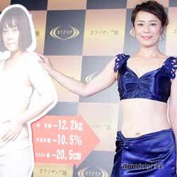 モデルプレス - 佐藤仁美、12キロ減に成功 ビフォーアフター公開&グラビアにも挑戦