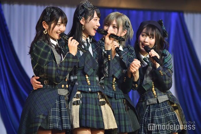 村山彩希、山内瑞葵、岡田奈々、坂口渚沙「AKB48 チーム4単独コンサート~友達ができた~」 (C)モデルプレス
