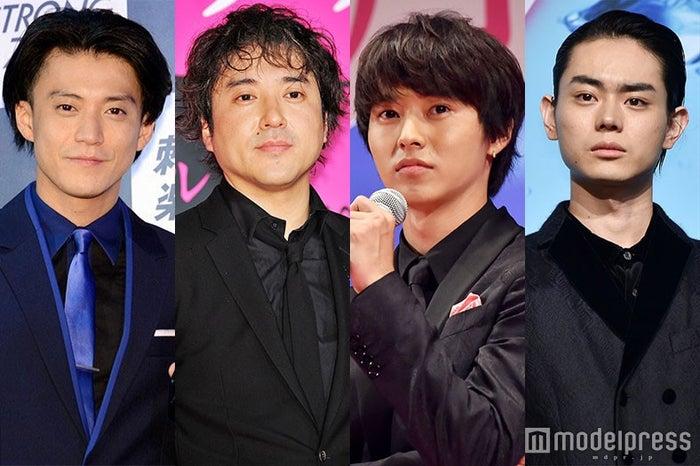 (左から)小栗旬、ムロツヨシ、山崎賢人、菅田将暉 (C)モデルプレス