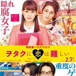 「ヲタクに恋は難しい」(C)ふじた/一迅社(C)2020映画「ヲタクに恋は難しい」製作委員会