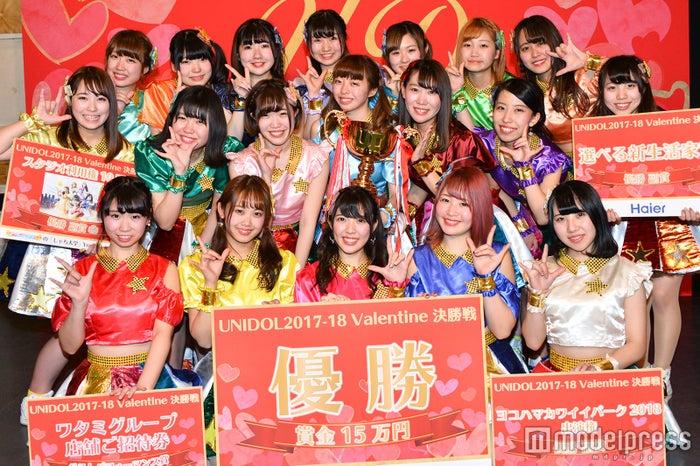 優勝したTomboys☆(東洋大学) (C)モデルプレス
