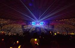 BIGBANGライブ会場の模様(画像提供:avex)