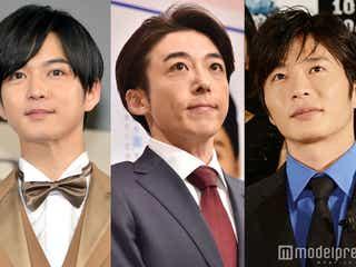 月9「民衆の敵」イケメン3人衆の魅力渋滞中 高橋一生・田中圭・千葉雄大が母性本能をくすぐりまくる
