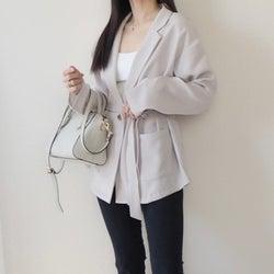 羽織るだけで着やせする!大人女子におすすめの韓国女子風GU「ジャケット」コーデ4選
