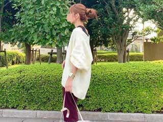 【色別】ファーバッグの着こなし方 冬コーデにふわふわを!