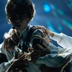 平手友梨奈「欅坂46 3rd YEAR ANNIVERSARY LIVE」/撮影:上山陽介