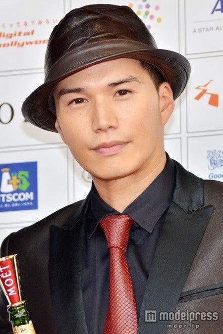 「ショートショート フィルムフェスティバル&アジア2014アワードセレモニー」に出席した市原隼人