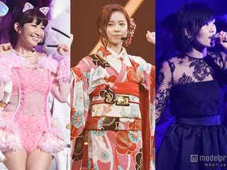 着物姿のぱるる、SEXYなこじはる…AKB48紅白歌合戦は衣装も注目<写真特集/セットリスト>