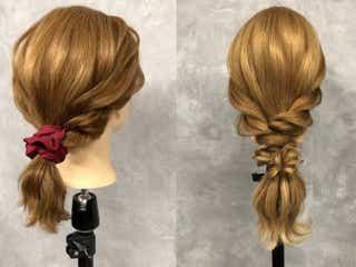 たった5分で即美人!超簡単なのに凝ってる風のヘアアレンジ特集