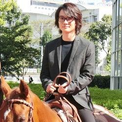 錦戸亮、神木隆之介と馬に乗って六本木ヒルズに登場「恥ずかしかった!」