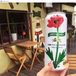 フォトジェニックに楽しめる「淡麗グリーンラベル」のデザイン缶