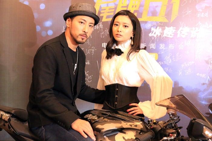 (左から)葉山豪、後藤郁(提供写真)