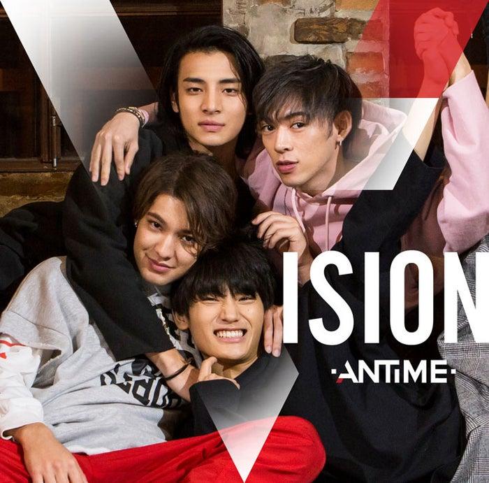 ANTIME 1st Album「VISION」(2018年2月14日発売)通常盤(提供写真)