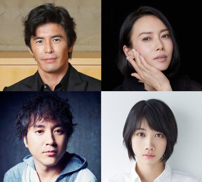 (上段左時計回り)伊藤英明、中谷美紀、松本穂香、ムロツヨシ(C)TBS