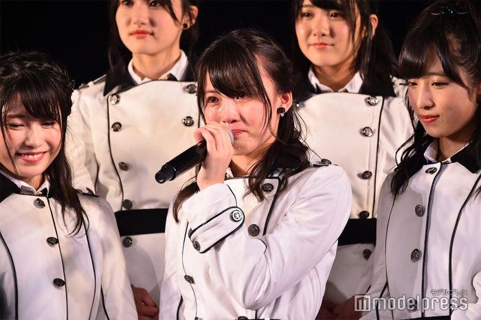 泣き出してしまった岡部麟/AKB48岡部チームA「目撃者」公演(C)モデルプレス