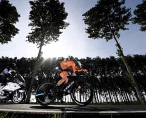 オランダのファンデイクが優勝 自転車ロード種目の世界選手権