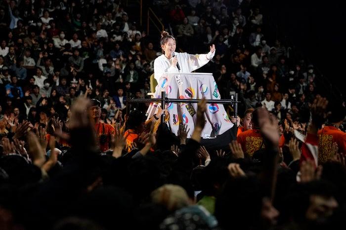 本田翼「ほんだのばいく」開設1周年記念イベント 第2部より(C)SDP