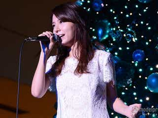 May J.、思い出の地で「Let It Go」熱唱 響き渡る美声に観客うっとり