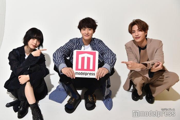 平手友梨奈、岡田将生、志尊淳(C)モデルプレス