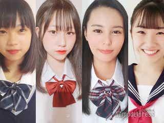 【中間速報】「JCミスコン2020」西日本Bブロック、暫定上位4人を発表<日本一かわいい女子中学生>