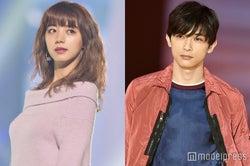 ドラマ『ぼくは麻理のなか』に出演する池田エライザ、吉沢亮(C)モデルプレス