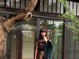 山田優、全身「FENDI」で輝き放つ 溢れる美しさを披露