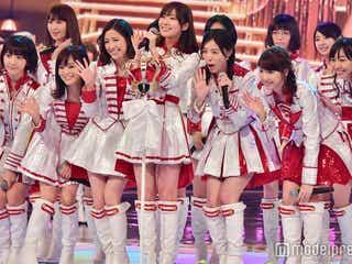 "AKB48、紅白選抜の""センター""披露 涙で歌唱<上位16名>"