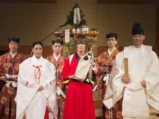 RICE on STAGE「ラブ米」新嘗祭斎行レポートが到着 五穀豊穣に感謝