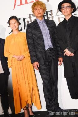 恒松祐里、香取慎吾、リリー・フランキー (C)モデルプレス