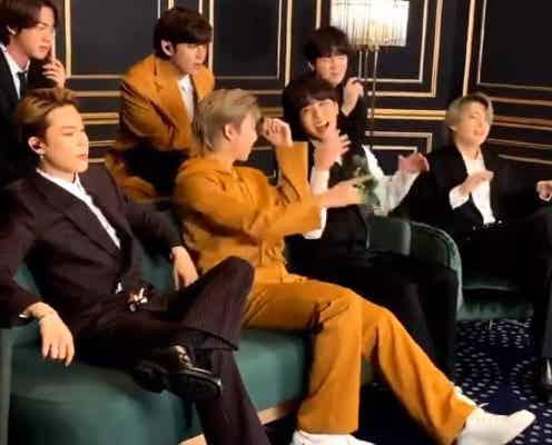 BTS「グラミー賞」発表の緊迫した瞬間を公開「正直一番惜しいのは…」想いを明かす