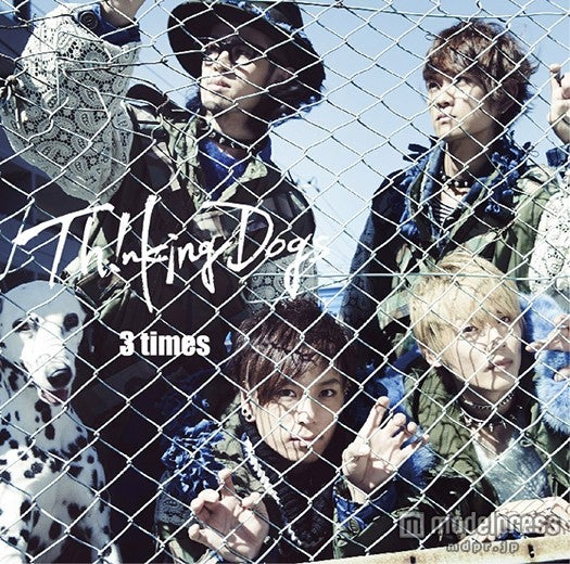 Thinking Dogs『3 times』(11月18日発売/通常盤)