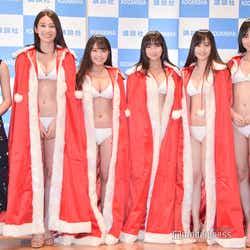 (左から)浅川梨奈、佐藤あいり、寺本莉緒、沢口愛華、岡田佑里乃、池松愛理 (C)モデルプレス