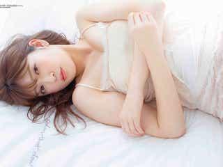 "NMB48吉田朱里、色気あふれるキャミ姿 ""女子力""の集大成を披露"
