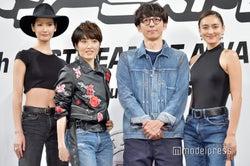 (左から)菜々緒、荻野目洋子、高橋一生、長谷川潤(C)モデルプレス