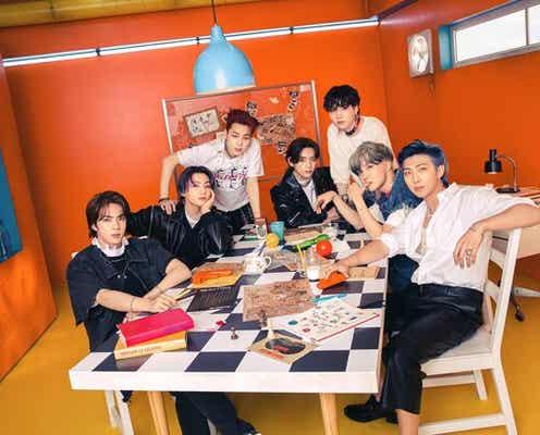 BTS、CD「Butter」発売で新曲「Permission to Dance」公開!爽やかな中にもキレのあるダンスが目を引くMVも
