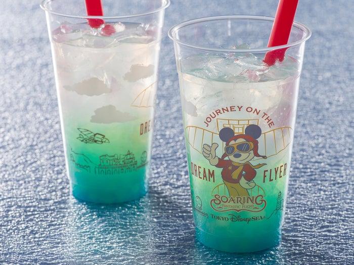 ファンタスティック・フライト・ドリンク(ライチータピオカ)1杯450円 (C)Disney