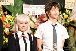 出演舞台の意気込みを語った(左から)山田菜々、横浜流星【モデルプレス】