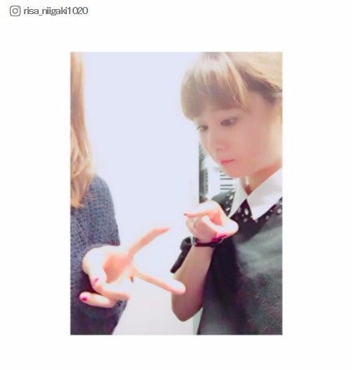 活動休止中の元モー娘。亀井絵里、新垣里沙のインスタ登場でファン歓喜「この時を待ってた」「元気そうで安心」/新垣里沙Instagramより
