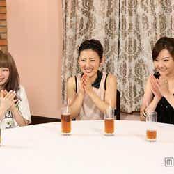 左から:きゃりーぱみゅぱみゅ、福田彩乃、観月ありさ/画像提供:関西テレビ