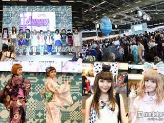 """人気モデルの""""KAWAII""""ファッションショーがパリ上陸 欧州最大26万人規模「JAPAN EXPO」<写真特集>"""